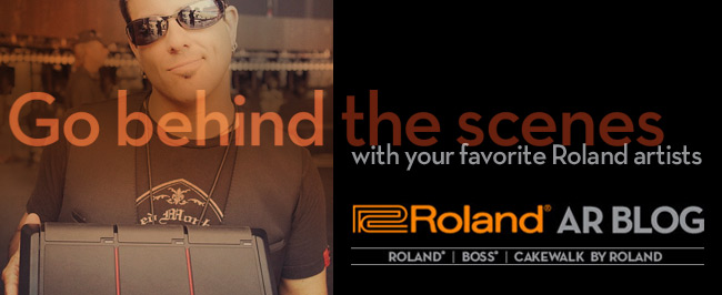 Inside Info from Music Pros at the New Roland Artist Relations Blog!