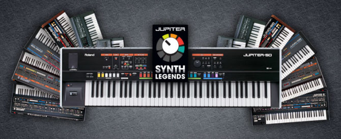 JUPITER Synth Legends Giveaway