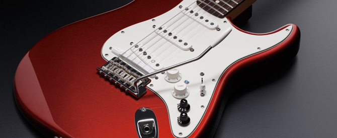 G-5A VG Stratocaster, Built in the U.S.A.