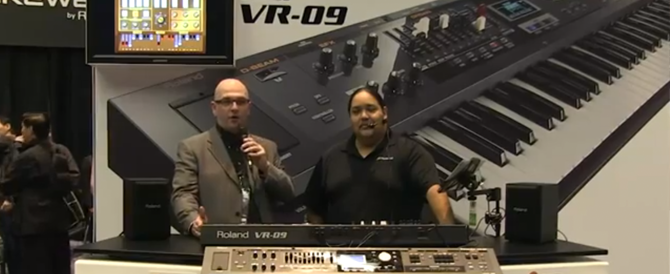 VR-09 Press Coverage at NAMM 2013