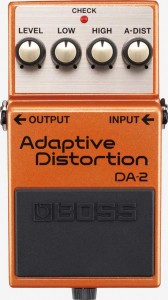 BOSS Adaptive Distortion DA-2 guitar pedal