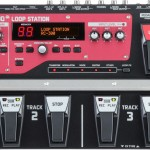 Red and black BOSS Loop Station RC-300