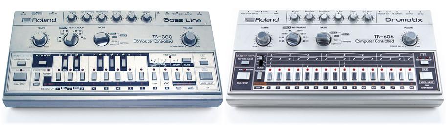 Roland-TB-303-TR-606
