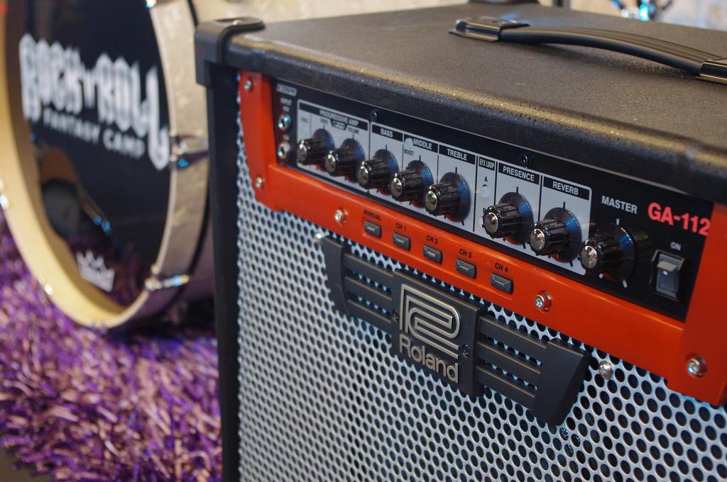 GA-112 Amp at RRFC