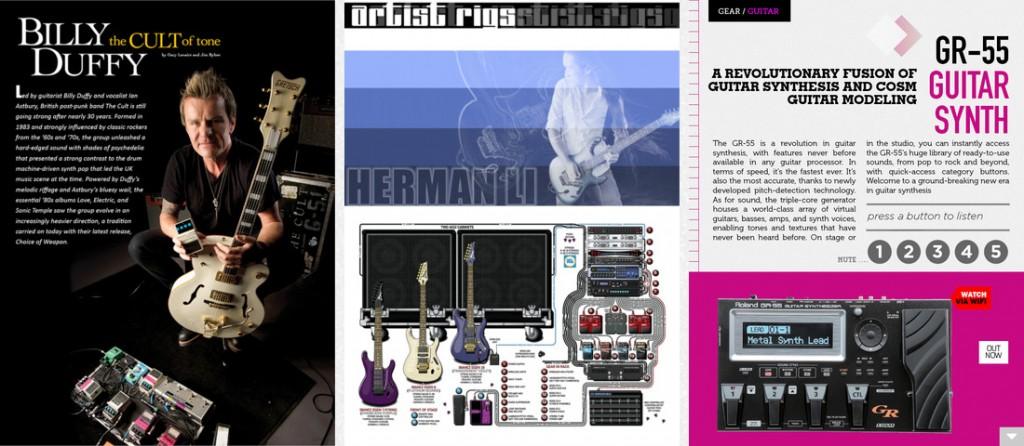 Screenshots: PowerOn BOSS and Guitar Edition