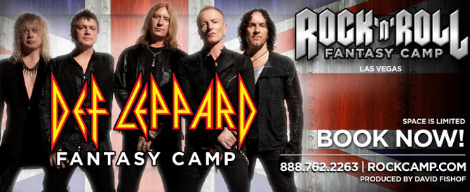 Special Edition Rock 'n' Roll Fantasy Camps, Powered by Roland Gear
