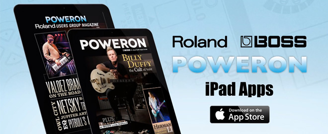 PowerOn: Free Tablet Music Magazines from Roland and BOSS