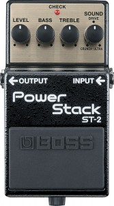 BOSS ST-2 Power Stack guitar effects pedal