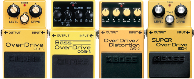 Get Great Tone With BOSS OverDrive