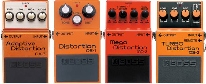 Get Great Tone With BOSS Distortion