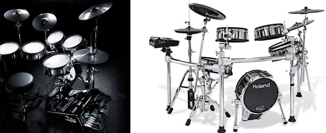 V-Drums kit for lefties
