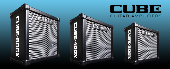 CUBE-GX Guitar Amps with iOS Connectivity