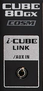 i-CUBE LINK Jack on CUBE-80GX
