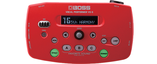 Give Your Singing Tone Control with the VE-5