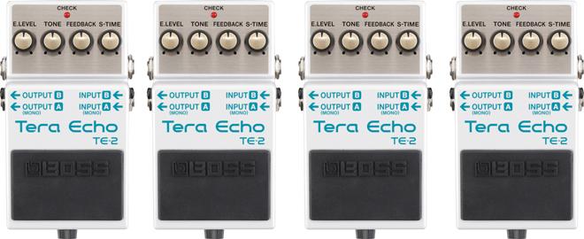 BOSS TE-2 Tera Echo with mdp technology