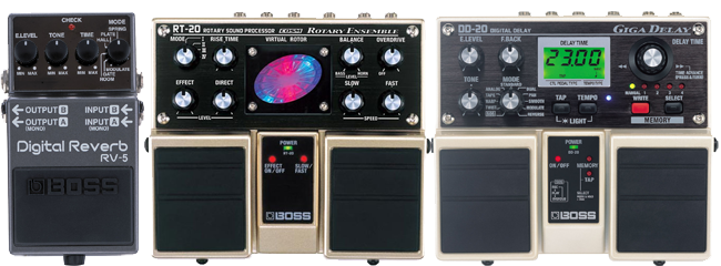 alternative guitar rock effects combo effects pedals part 1