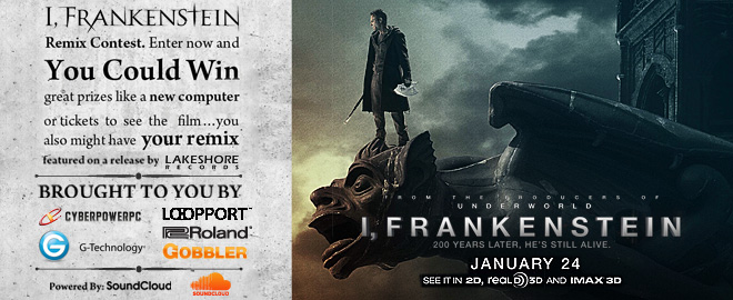 I, Frankenstein remix contest header image