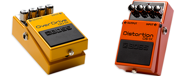 New BOSS OD-1X Overdrive & DS-1X Distortion