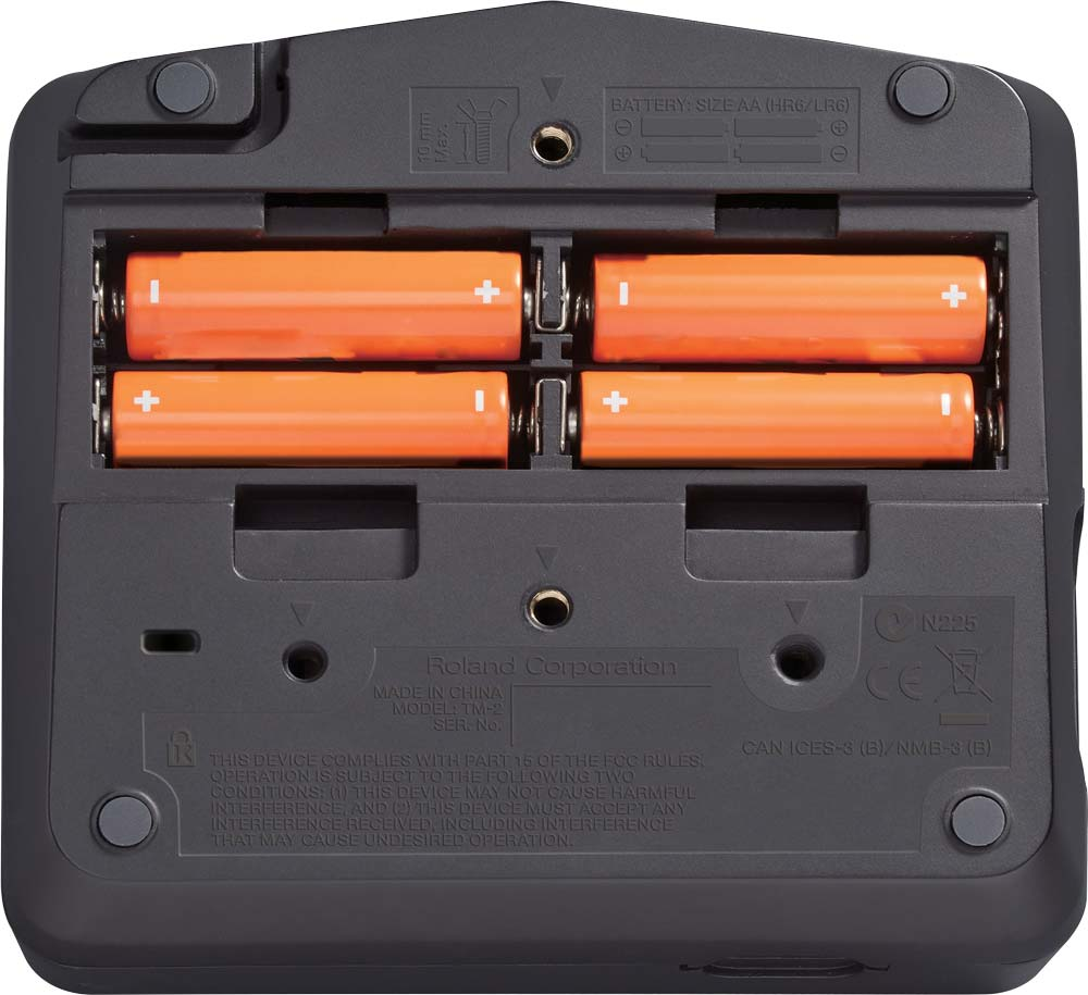 TM-2 Hybrid Drums Module Battery Compartment