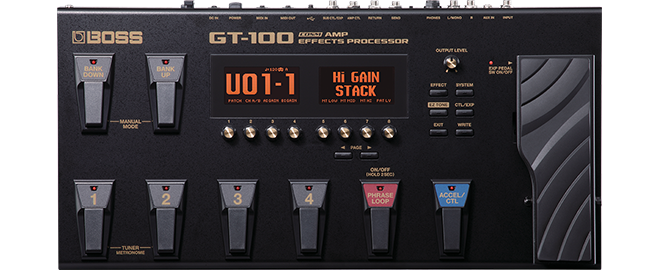 BOSS GT-100 Version 2.0 Update