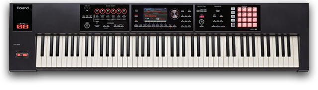 fa-08 music workstation studio set