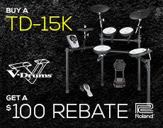 TD-15K $100 CASH BACK PROMO