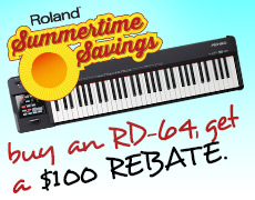 Summertime Savings RD-64 Rebate