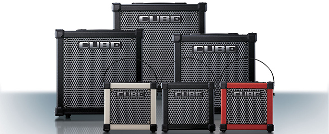 Top Guitarists Choose CUBE Amps