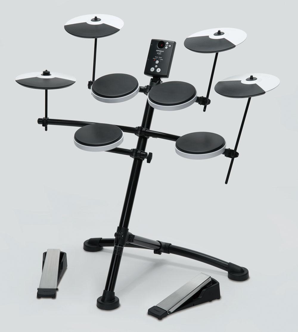 TD-1K V-Drums with Optional OP-TD1C Cymbal Set