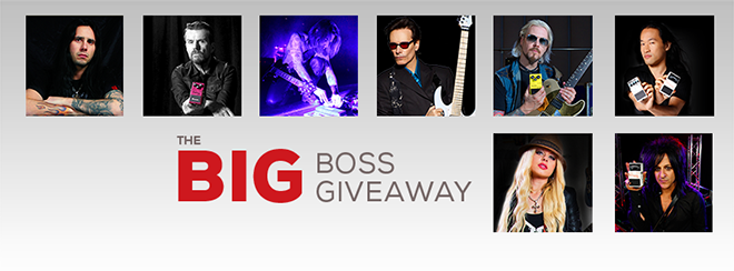 Big BOSS Giveaway 2014