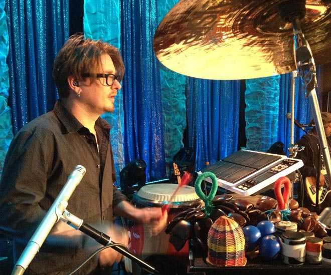 Percussionist Pete Korpela Looping on the OCTAPAD