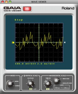 The GAIA Sound Designer software provides visual tools for learning synthesis