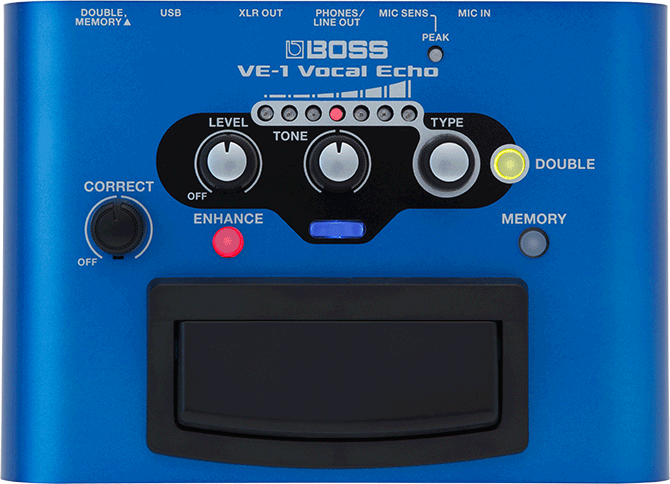 New Product: BOSS VE-1 Vocal Echo