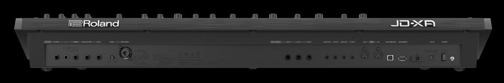 Roland JD-XA Analog/Digital Crossover Synthesizer Rear Panel