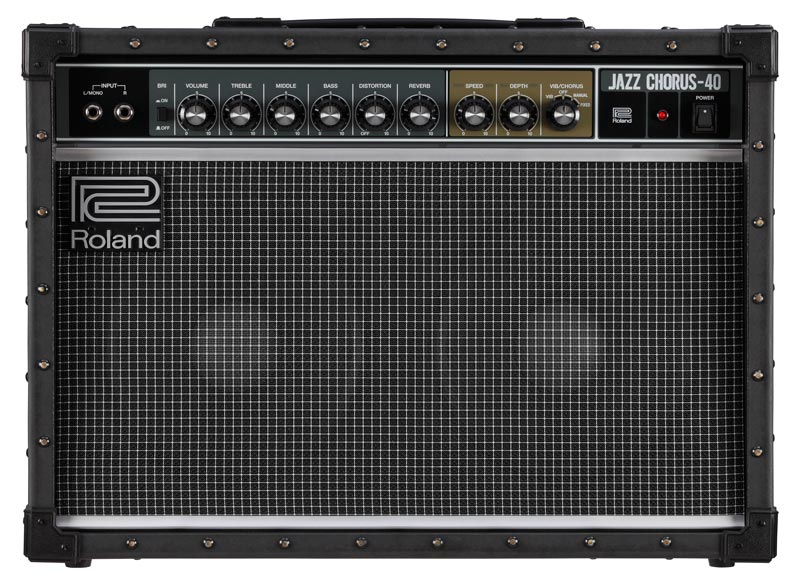 Front View of the Roland JC-40 Jazz Chorus Guitar Amp