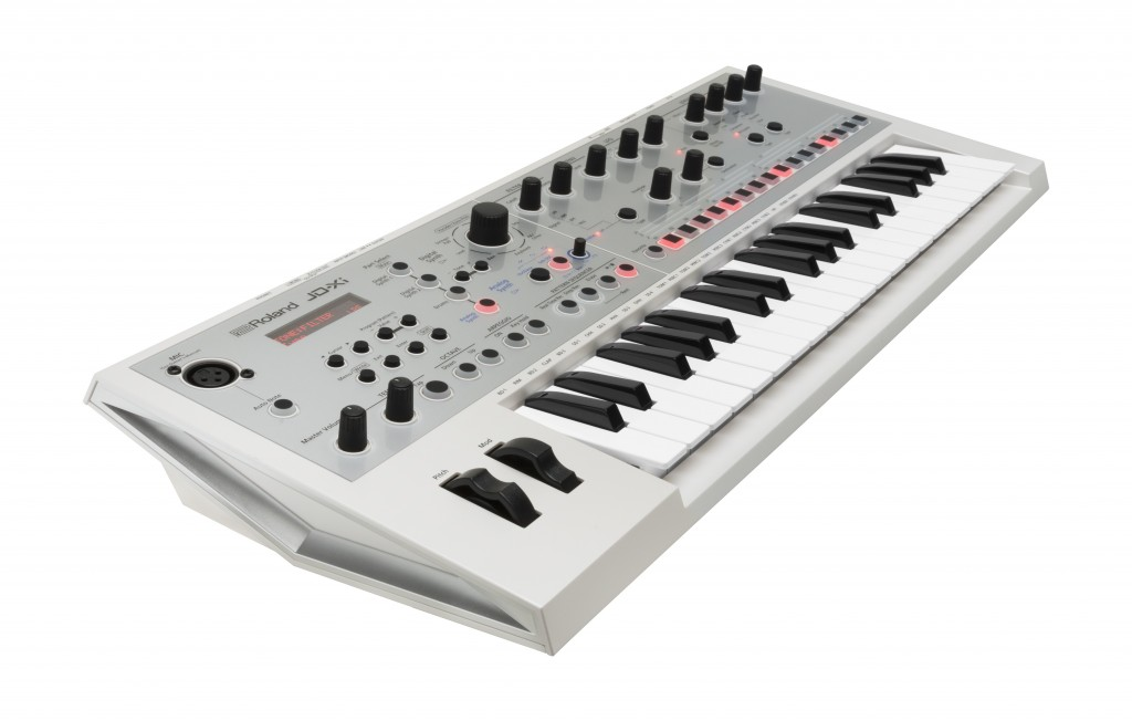 The Roland JD-Xi Synth in Limited Edition White Color