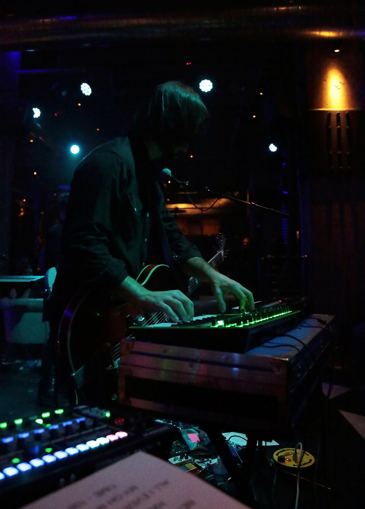 Dan Silver performing with the AIRA SYSTEM-1 and MX-1 Mix Performer