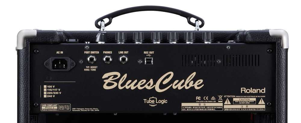 Top panel of the Blues Cube Hot