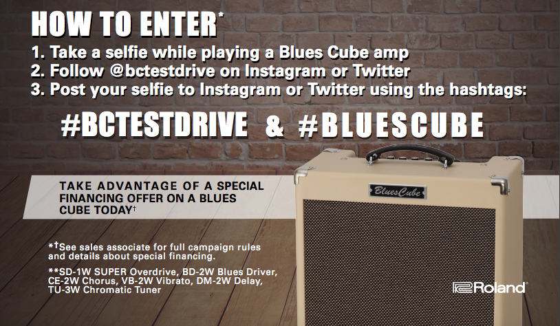 BluesCubeTestDriveHowToEnter2016