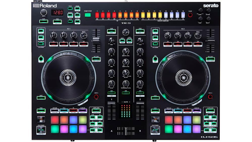 Roland DJ-505 DJ Controller.