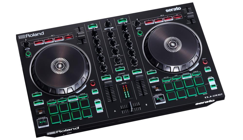 Roland DJ-202 DJ Controller.