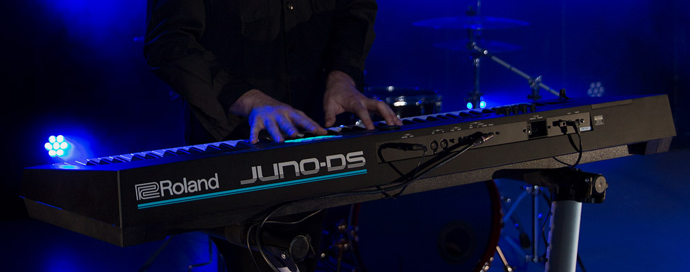 Roland JUNO-DS synthesizers.