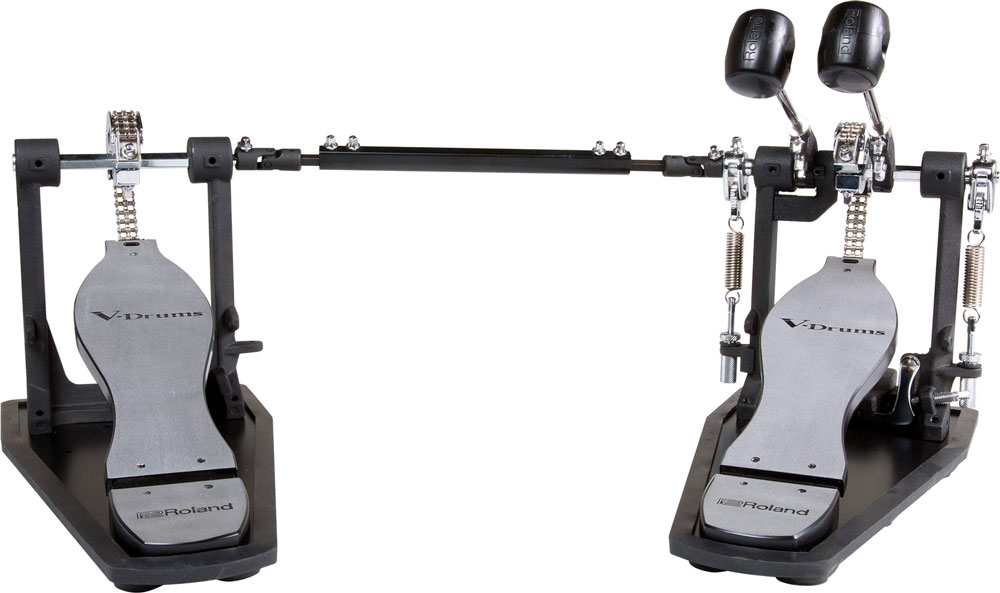 RDH-102 double kick drum pedal with built-in Noise Eater system.